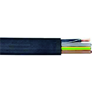 H07VVH6-F 12G1,5, PVC-Flachleitung                   Schnitt