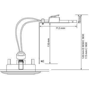 Hochvolt-Kit für D3830, C3830, C1830, Hochvolt-Kit für D3830, C3830, C1830