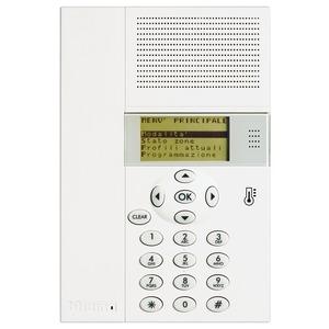 Heizungszentrale zur Steuerung der MY HOME-Einzelraumregelung bis zu 99 Heizkreise, L × B × T: 140 × 210 × 30mm