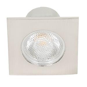 LED Mini Spot Q nickel-geb. 3,3W warmweiß 22°, LED Mini Spot Q nickel-geb. 3,3W warmweiß 22°