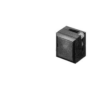 3SB3111-0DA71, Leuchtdruckschalter, 26x26mm, quadratisch, Kunststoff