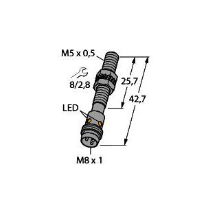 BI1-EG05-AP6X-V1331, Induktiver Sensor, Standard