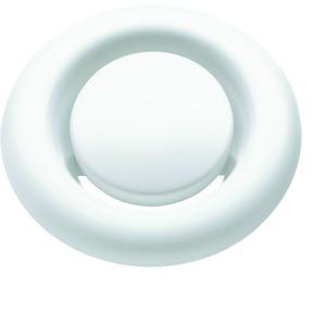 LWF AVM 100, Abluftventil 100M aus Metall,Wand-/Deckeneinbau,weiß