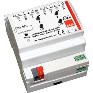KNX SA-8C-230V, Die Schaltaktoren KNX SA-8C-230 V und KNX SA-16C-230 V empfangen KNX-Telegramme und schalten bis zu 8 oder 16 Verbraucher unabhängig voneinander