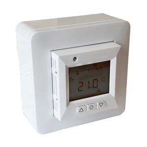 Elektronischer Thermostat, programmierbar, +5 bis +37°C, 230 V 16 A,IP21