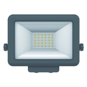 theLeda B20L BK, LED-Strahler für Wandmontage, 20 Watt, schwarz