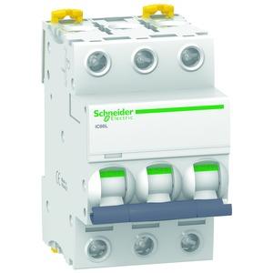 Leitungsschutzschalter iC60L, 3P, 2A, B-Charakteristik, 100kA