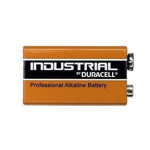 6LR61, DURACELL 9V alkalische Blockbatterie 9 Volt, 6LF22, 9V-Block, E-Block Industrial