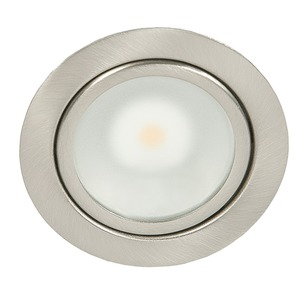 N 5020 COB LED nickel-geb. Set 3x3,3W warmweiß, N 5020 COB LED nickel-geb. Set 3x3,3W warmweiß
