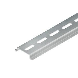 HTRAGS2GL, Tragschiene/Hutschiene verzinkt gelocht 2000x35x7,5 mm