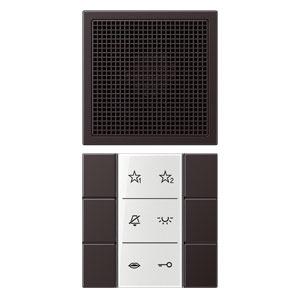 SI AI AL 6 D, Audio-Innenstation, Beschriftungsfeld, Beschriftungsfolien, Anschlusskabel