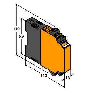 IM35-22EX-HI/24VDC, Analogsignaltrenner, 2-kanalig, TÜV 03 ATEX 2311