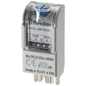 86.30.0.024.0000, Zeitmodul, Einschaltverzögerung und Einschaltwischer, für 12 bis 24 V AC/DC