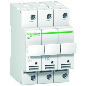 Sicherungsträger STI, 3-polig, bis 25A, für Sicherung 10,3x38mm