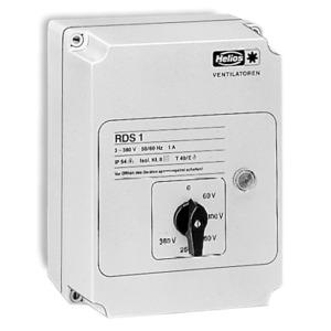 RDS 1, Trafo-Drehzahlsteller RDS 1, 3-PH, 400 V, 1,0 A mit Motorvollschutzeinrichtung