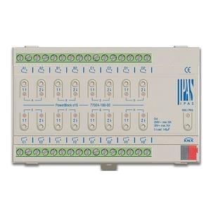 77024-180-02, IPAS Powerblock o16, Multifunktionsaktor mit bis zu 16 digitalen Ausgängen (16 x Schalten/8 x Antriebe) 16A, 8U
