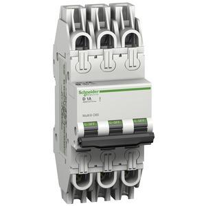 Leitungsschutzschalter C60, UL489, 3P, 5A, D Charakt., 480Y/277V AC