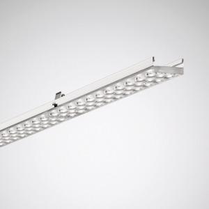 7650TB LED4000-830 ET vp/4St, Lichtbandleuchte, weiß, 1475x63, (TB) Linse Tief-Breit-strahl., 26W, 4200lm, 830, IP20