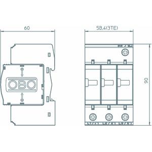 V25-B+C 3-280, CombiController V25 dreipolige Ausführung 280V