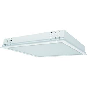 EBRE-LED 418/5200-840 OS, Einbauleuchte, weiß, direkt - symmetrisch strahlend, IP20, LED-Module 5200lm LF 840, elektronischer Konverter, opale Kunstglasscheibe aus PMMA, L=622m