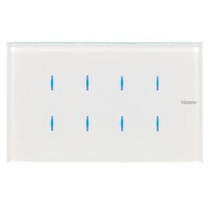 8 Tasten – 4-modulig, Farbe: white