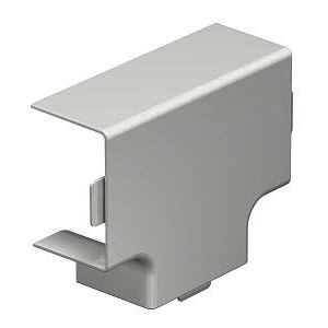 WDK HT30045RW, T-Stückhaube 30x45mm PVC reinweiß RAL 9010