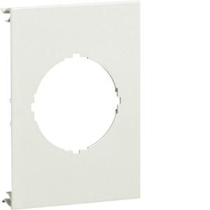 Blende 1-fach d=45mm PVC BR OT 120 cweiß
