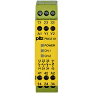 774300, PNOZ X1 24VAC/DC 3n/o 1n/c