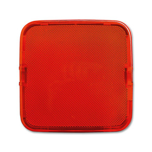 2526-12, Haube, rot, SI/Reflex SI, Abdeckungen für LED-Licht