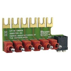 CP1W-SWB06, CP1 Zubehör, Schalterleiste für Simulation