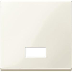 Wippe mit rechteckigem Symbolfenster, weiß glänzend, System M