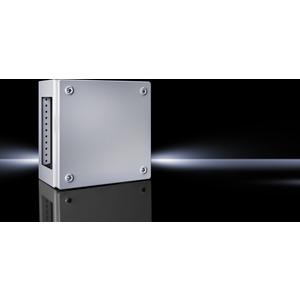 KL 1536.510, Klemmenkästen KL, mit Flanschplatte, BHT 400x300x120 mm