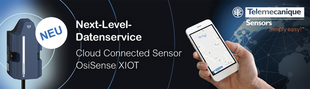 Cloud Connector Sensor OsiSense XIOT