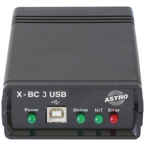 X-BC 3 USB, Buscontroller zur Ansteuerung mehrerer Basisgeräte über HE-Programmiersoftware, serielle Schnittstelle, USB-Schnittstelle, dynamische NIT, LCN