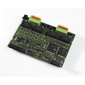 Modulfrontplatte T-Modul / UP0-Modul 508  schwarz, Modulfrontplatte für AS 200 IT perlgrau und AS 44 IT schwarz