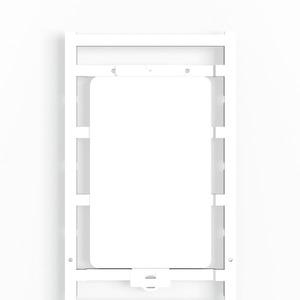 CC 85/54 K MC NE WS, Gerätemarkierung, selbstklebend, 85 x 54 mm, Polyamid 66, weiß