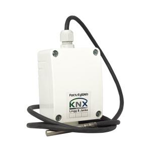 KNX DIGITEMP Leitungstemperaturfühler, Leitungslänge 3m;