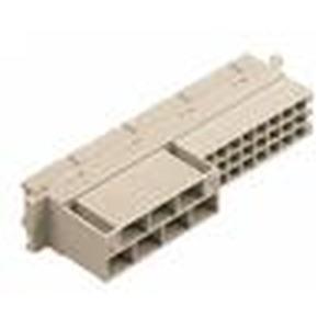 Steckverbinder, Federleiste, Thermoplastischer Formstoff, glasfaserverstärkt, Leiterplatte zu Kabel, Crimpanschluss