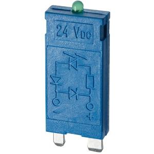 99.01.0.024.98, Modul, Varistor und grüne LED, 6 bis 24 V AC/DC