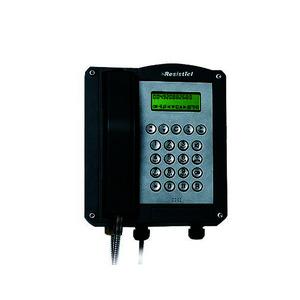 FHF11286101, Ex-Telefon ExResistTel   schwarz