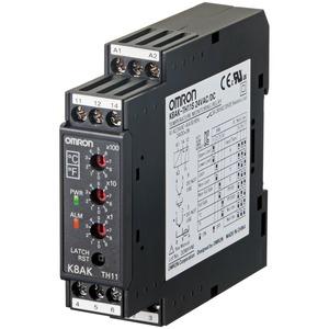 K8AK-TH11S 24VAC/DC, Temperaturüberwachung: 0..999°C/F, PT 100, PT1000, Thermoelemente: K, J, T, E