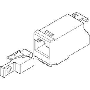 RJ45-Adapter_ohne Patchkabel für 3Pkt.-Platz