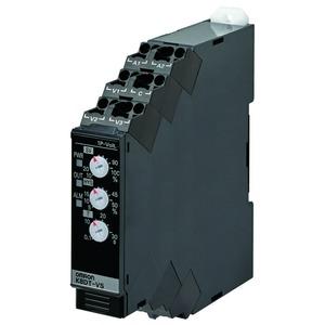 K8DT-VS2CA, Überwachungsrelais, 17.5mm, Einphasige Über-/Unterspannungsüberwachung, 1 bis 150V AC/DC, 1 Wechsler, 100-240V AC