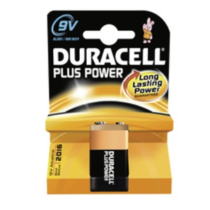 Duracell Plus Power-9V(MN1604/6LR61) K1, Duracell Plus Power  9V MN 1604 BL
