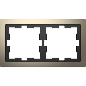 D-Life Metall Rahmen, 2fach, Nickelmetallic