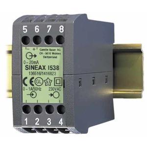 SINEAX I538 230VAC 5A 4...20mA, Messumformer für Wechselstrom, mit Hilfsenergie-Anschluss