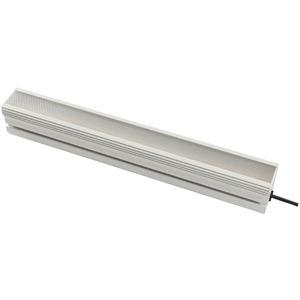 LED Arbeitsplatzleuchte, 80x504x64mm, neutralweiß, 40W, 100°, 4800lx, 4500K, SCHUKO-Stecker, abgew...