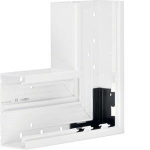 Flachwinkel Grundprofil PVC BR 70x130 rw