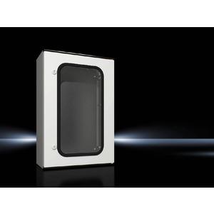 KS 1449.500, Kunststoff-Schaltschrank KS, 1-türig mit Sichtfenster, BHT 400x600x200 mm