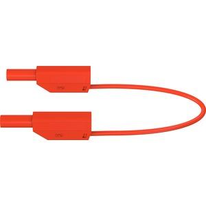 SLK425-E, 4mm Sicherheits-Messleitung 150cm rot